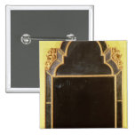25: Pierglass del giltwood de la reina Anne Pin Cuadrado