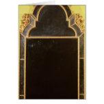 25: Pierglass del giltwood de la reina Anne Tarjeta De Felicitación