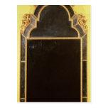 25: Pierglass del giltwood de la reina Anne Tarjeta Postal