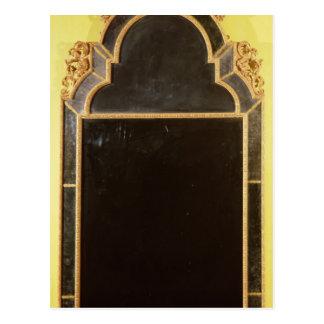 25: Pierglass del giltwood de la reina Anne Postal