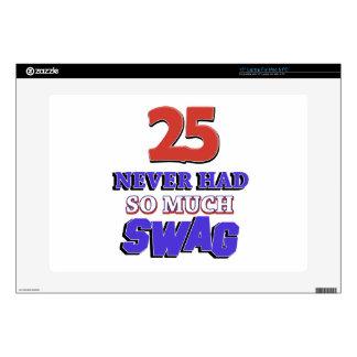 25 tanto diseños nunca tenidos del Swag Calcomanías Para Portátiles