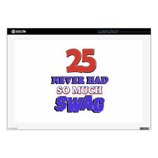25 tanto diseños nunca tenidos del Swag Portátil 43,2cm Skins