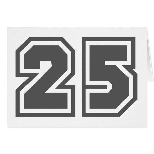 25 TARJETA DE FELICITACIÓN
