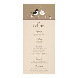 25 tarjetas del menú que casan el amor Coupl del n Lonas Personalizadas