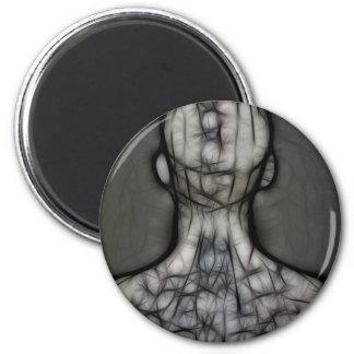 25 - The Silken Skin 2 Inch Round Magnet