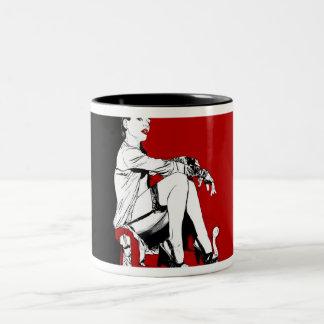25. vanitas Two-Tone coffee mug