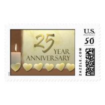 25 Year Anniversary Stamp