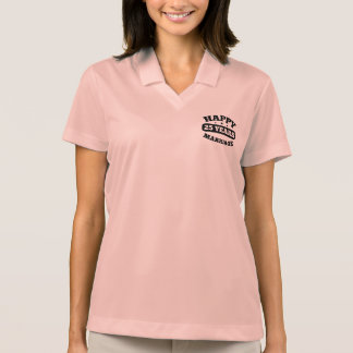 25 Year Happy Marriage Polo Shirt