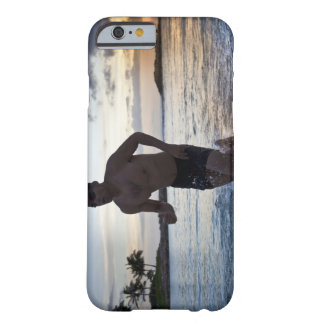 25 year old Hispanic triathlete after swim Barely There iPhone 6 Case