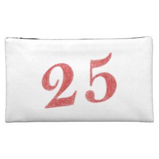 25 years anniversary makeup bag