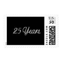25 Years Anniversary Postage