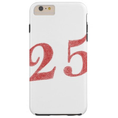 25 years anniversary tough iPhone 6 plus case