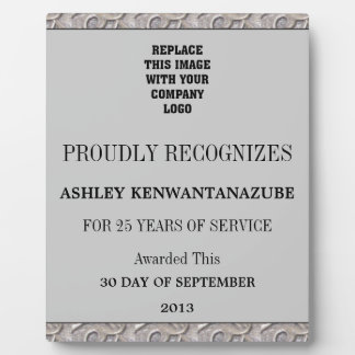 25 Years of Service Plaque