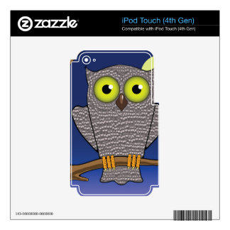 25owl skin for iPod touch 4G