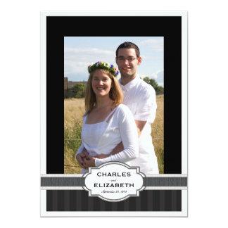 25ta fiesta de aniversario del boda de la foto invitacion personalizada