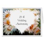 25ta tarjeta del aniversario