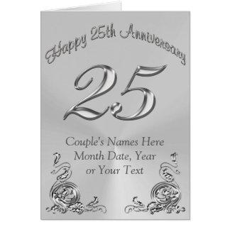 25tas tarjetas PERSONALIZADAS hermosas del
