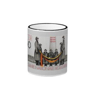 25th Aniversary of The Nationale Volksarmee Ringer Mug