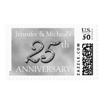 25th Anniverary Party Postage