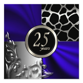 25th Anniversary | All Occasions | DIY Text Card