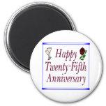25th anniversary b fridge magnets