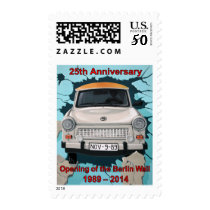 25th Anniversary Berlin Wall Open Postage