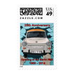 25th Anniversary Berlin Wall Open Stamp