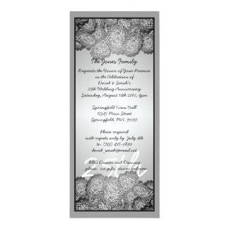 25th Anniversary Custom Invitations