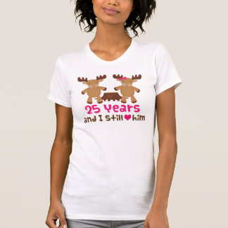 25th Anniversary Gift For Her Shirts