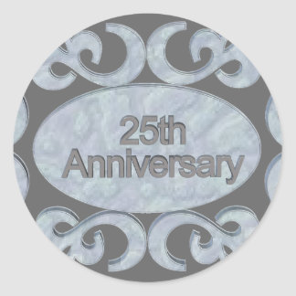 25th Anniversary Gifts Stickers