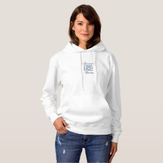 25th Anniversary in Blue and Silver Hoodie