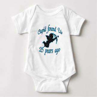 25th. Anniversary Infant Creeper