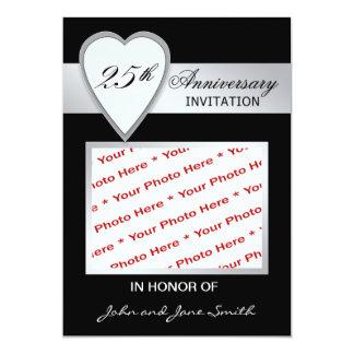 25th Anniversary Invitation Photo Card
