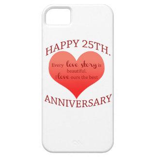 25th. Anniversary iPhone SE/5/5s Case
