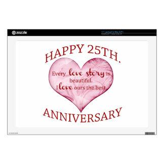25th. Anniversary Laptop Skin