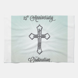 25th Anniversary of Ordination, Pillow Towel