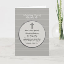 25th Anniversary Ordination Priest - ANY Clergy Card