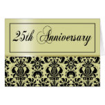 25th Anniversary Party Invite (Chaucer/champagne) Card