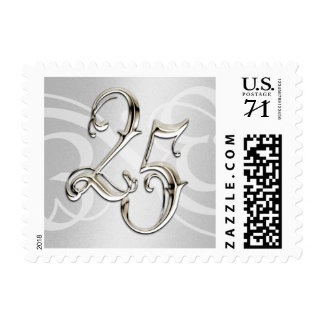 25th Anniversary Postage Stamp