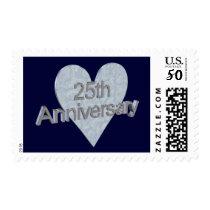 25th Anniversary Postage Stamp