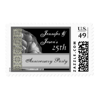 25th Anniversary - Shades of Silver Stamp
