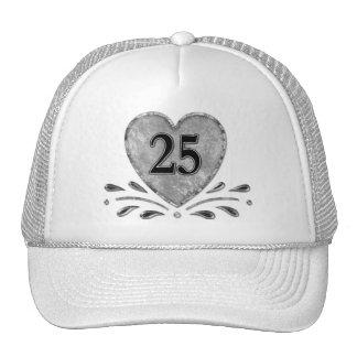 25th Anniversary - Silver Trucker Hat