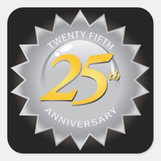 25th Anniversary Silver Seal