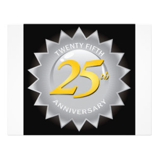25th Anniversary Silver Seal Flyer