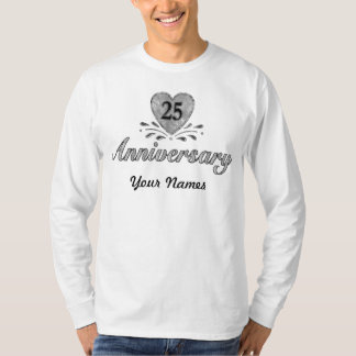 25th Anniversary - Silver T-Shirt