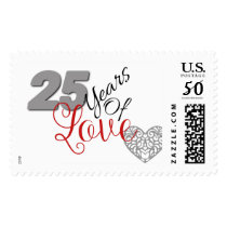 25th Anniversary Stamps
