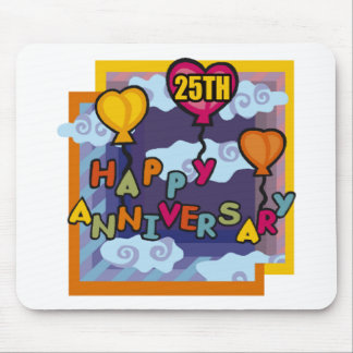25TH ANNIVERSARY W1 MOUSE PAD