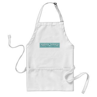25th anniversary w3 adult apron
