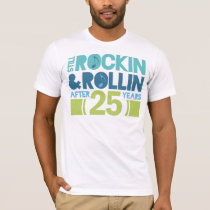 25th Anniversary Wedding Gift T-Shirt