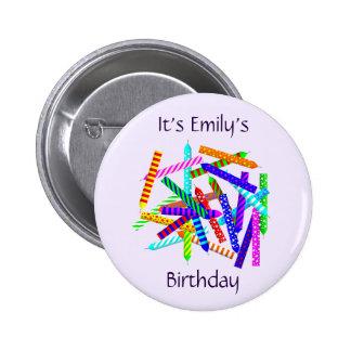 25th Birthday Button